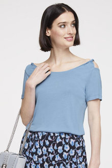 Heine Off Shoulder Short Sleeve Top - 252934