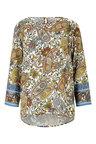 Heine 3/4 Sleeve Paisley Print Top