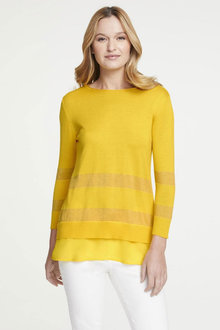 Heine Long Sleeve Pattened Jumper - 252941