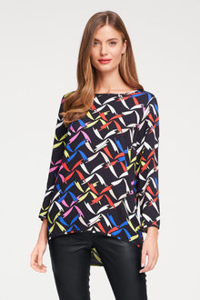 Heine Round Neck Printed Top - 252942