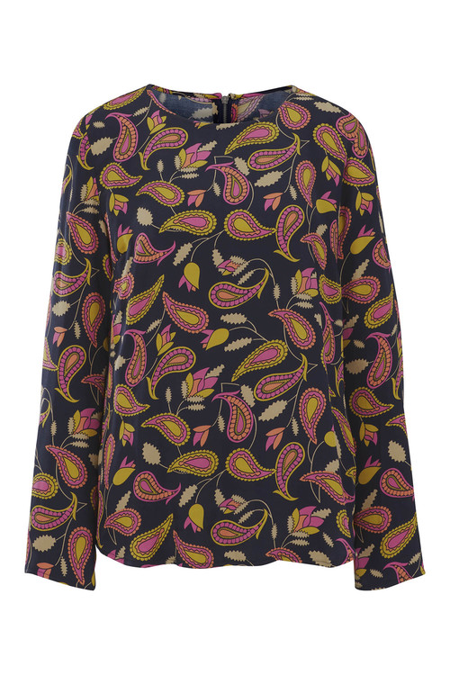 Heine Long Sleeve Printed Top