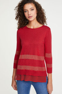 Heine Long Sleeve Striped Jumper - 252951