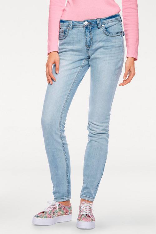Heine Alwa Jeans with Cotton Stitching