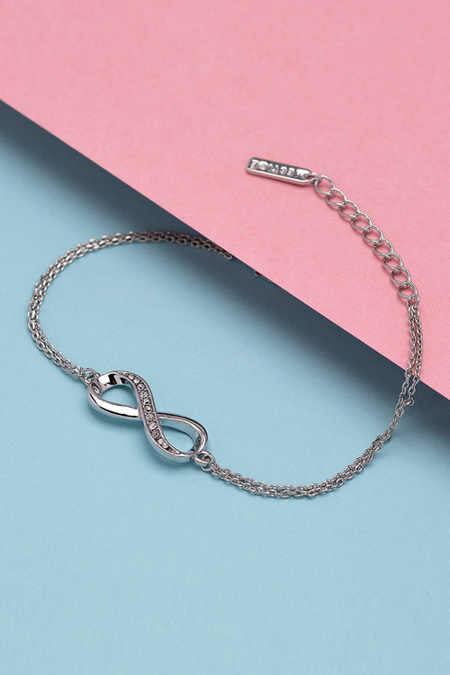 Mestige Infinitely Yours Bracelet with Swarovski Crystals