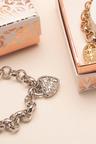 Mestige Sweetheart Bracelet with Swarovski Crystals