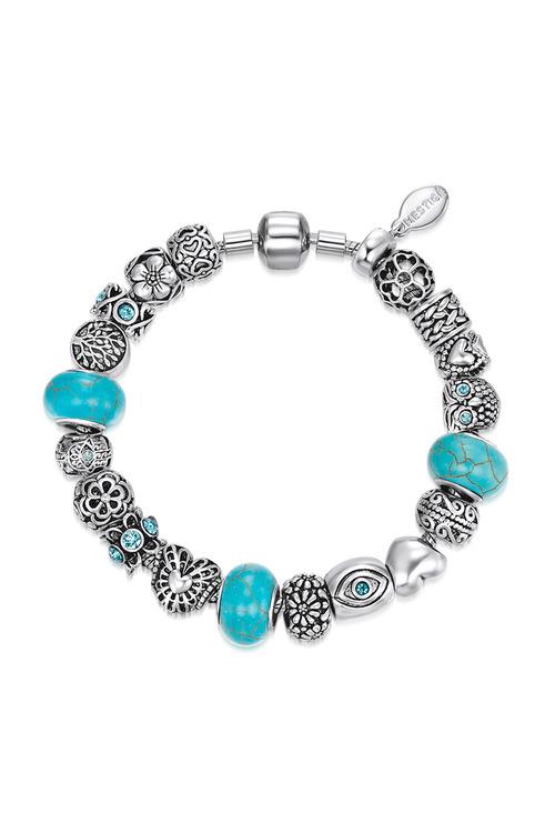 Mestige Companionship Bracelet with Swarovski Crystals