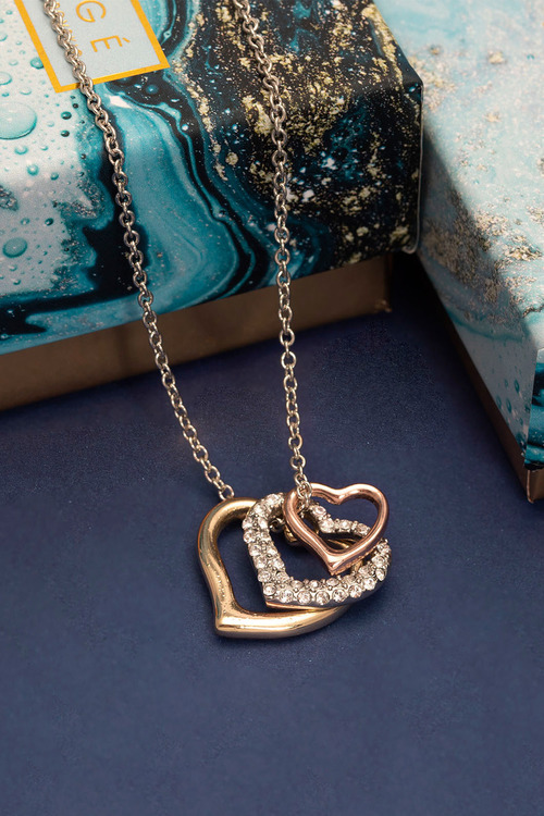 Mestige L'Amour Necklace with Swarovski Crystals