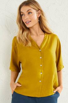 Capture Linen Blend Shirt - 253022
