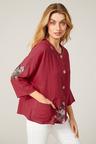 Capture Linen Blend Oversize Shirt