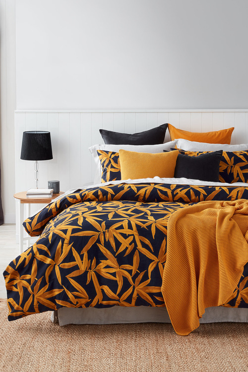 Bamboo Slub Duvet Cover Set