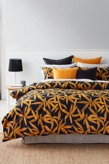 Bamboo Slub Duvet Cover Set - 253037