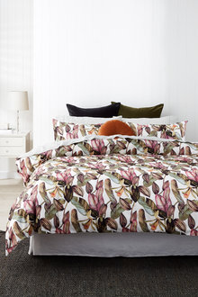 Brazil Slub Cotton Duvet Cover Set - 253039