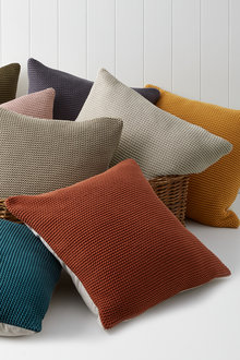 Cotton Knitted Cushion - 253053