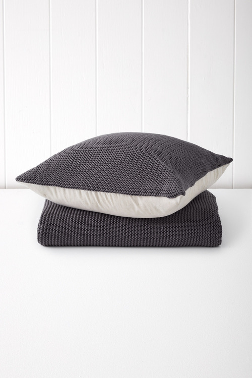 Cotton Knitted Cushion