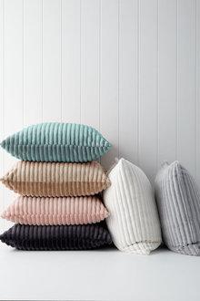 Ribbed Plush Cushion - 253056