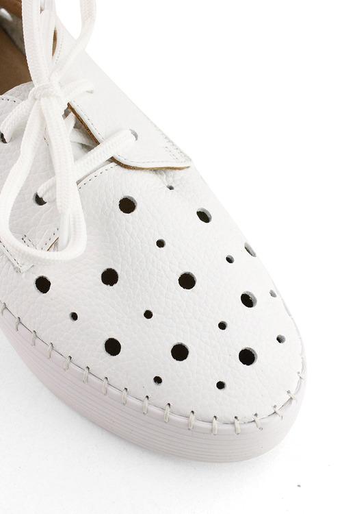 Bueno Lemar Platform Leather Sneakers