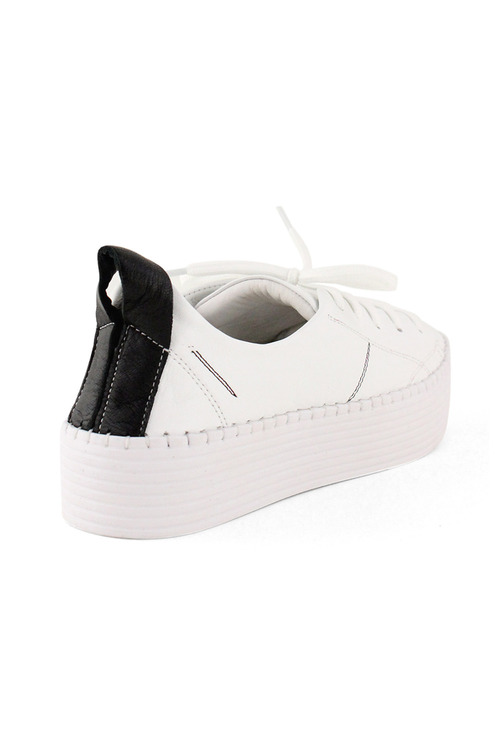 Bueno Sailor Platform Leather Sneakers