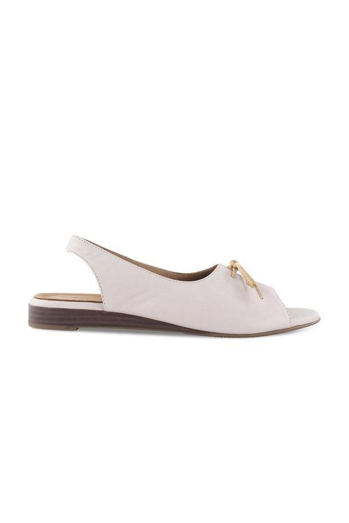 Bueno Yuzhou Peep Toe Flat
