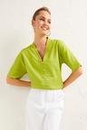 Emerge Linen Blend Kimono Shirt