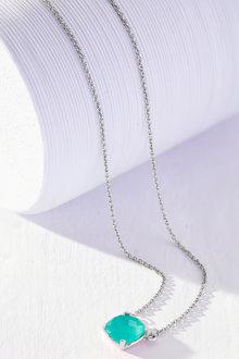 Fairfax & Roberts Real Gemstone Cushion Necklace - 253174