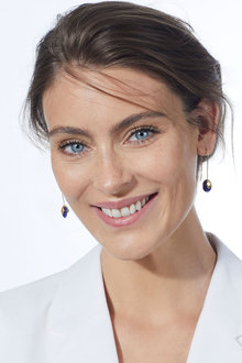 Fairfax & Roberts Real Gemstone Bud Earrings - 253214