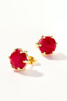 By Fairfax & Roberts Real Gemstone Stud Earring - 253222