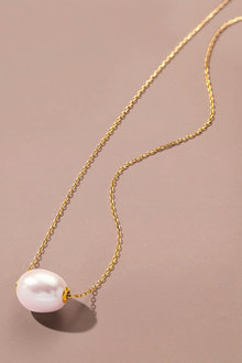 Fairfax & Roberts Pearl Slider Necklace - 253223