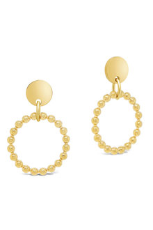 Fairfax & Roberts Beaded Round Drop Earrings - 253240