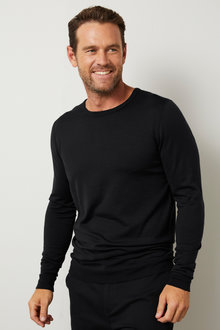 Southcape Merino Crew Neck Top - 253250
