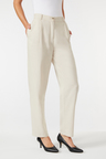 Grace Hill Linen Blend Straight Leg Pant