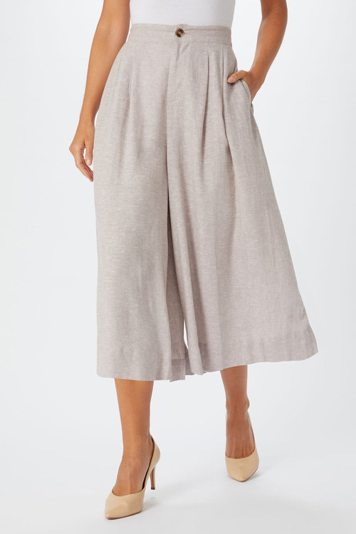 Grace Hill Linen Culotte