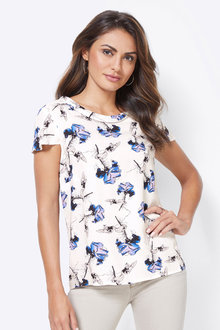 Euro Edit Printed Top - 253276