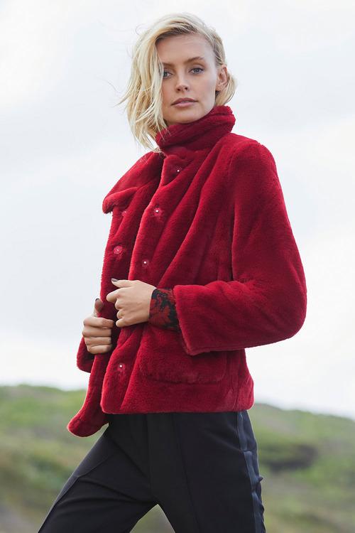 Emerge Faux Fur Jacket