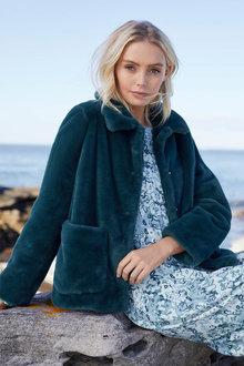 Emerge Faux Fur Jacket - 253292