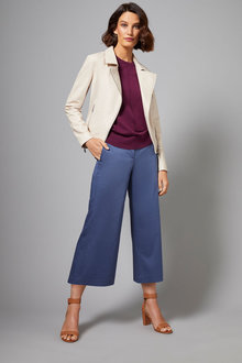 Grace Hill Structured Panelled Culotte - 253309