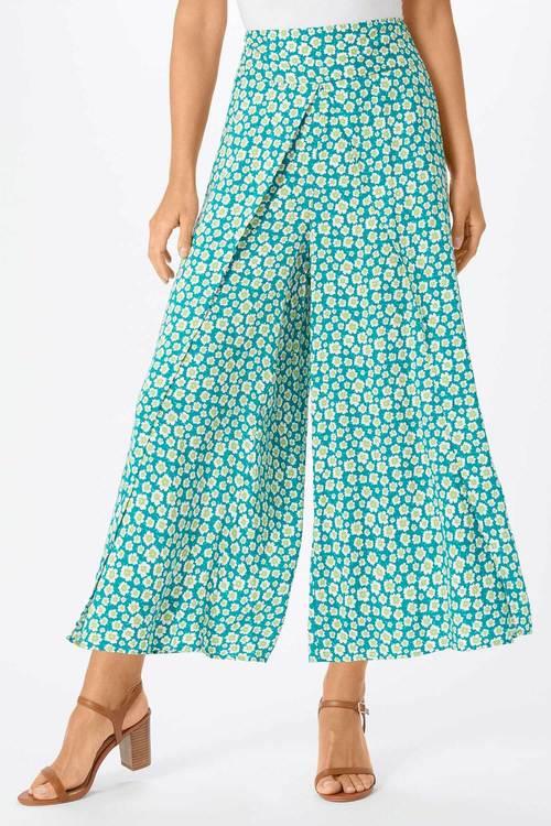 Emerge Wide Leg Wrap Pant