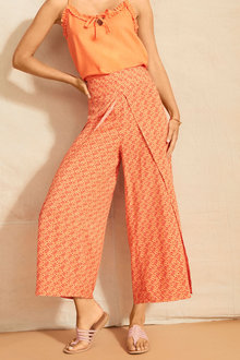 Emerge Wide Leg Wrap Pant - 253322