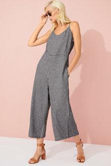 Emerge Linen Blend Jumpsuit - 253327