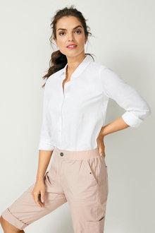 Capture Linen Blend Shirt - 253332