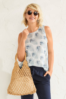 Capture Printed Tank Top - 253333