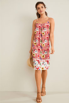 Capture Shoe String Shift Dress - 253335
