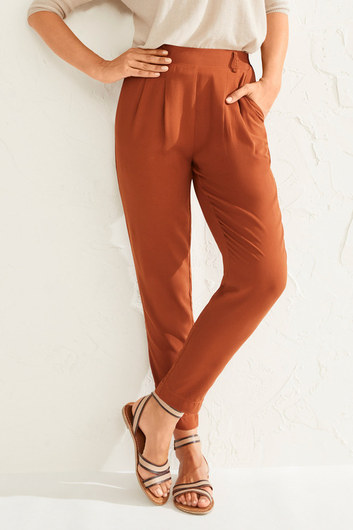 Capture Pull On Pleat Front Dress Pant