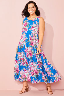 Sara Tiered Maxi Dress - 253347