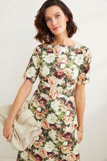 Grace Hill Belted Tea Dress - 253371