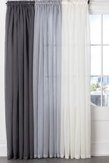 Voile Curtain Pair - 253376