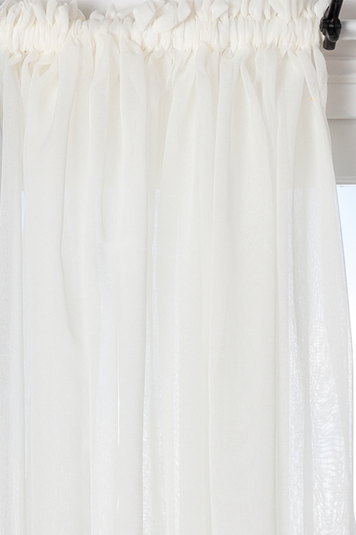Voile Curtain Pair