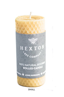 Hexton Beeswax Rolled Pillar Candle