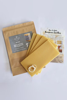 Hexton Beeswax DIY Candle Kit