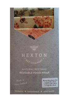 Hexton Beeswax Wraps Starter Pack - 253396