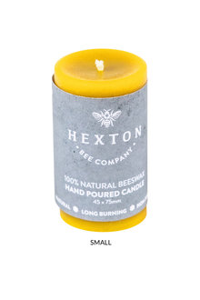Hexton Beeswax Solid Pillar Candle